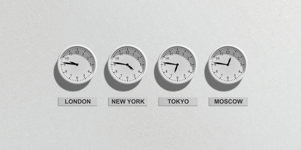 Business Clock Countries